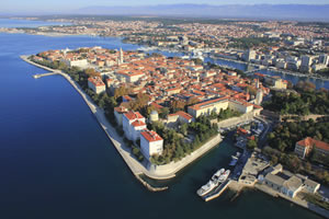 The city of Zadar